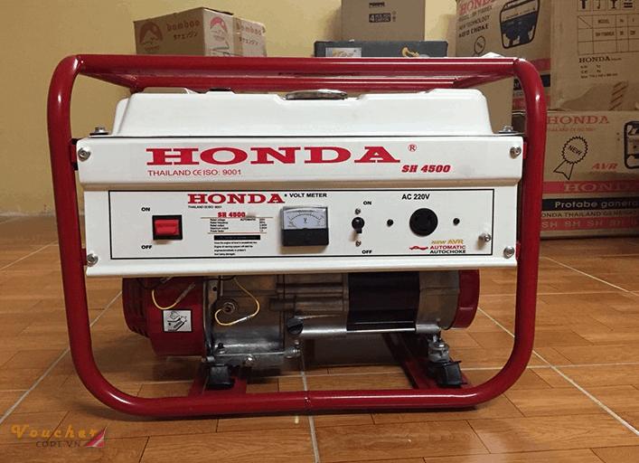 Máy phát điện Honda SH 4500C AVR (3 kw; xăng).